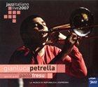 GIANLUCA PETRELLA Live at Casa del Jazz album cover