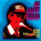 GIL SCOTT-HERON Live At The Town & Country 1988 album cover