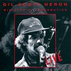 GIL SCOTT-HERON Minister Of Information - Live album cover