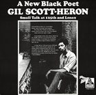 GIL SCOTT-HERON Small Talk at 125th and Lenox album cover