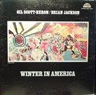 GIL SCOTT-HERON Gil Scott-Heron / Brian Jackson : Winter In America album cover