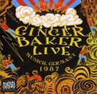GINGER BAKER No Material Live In Munich Germany 1987 album cover