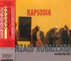GONZALO RUBALCABA Rapsodia album cover