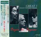 GREAT 3 (MASABUMI KIKUCHI - GARY PEACOCK - MASAHIKO TOGASHI) Begin The Beguine album cover