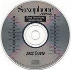 GREG YASINITSKY Jazz Duets album cover
