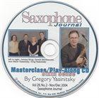 GREG YASINITSKY Masterclass / Play-Along CD album cover