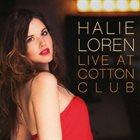 HALIE LOREN Live at Cotton Club album cover