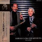 HAROLD LAND Harold Land, Eiji Kitamura : Live At Junk album cover