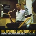HAROLD LAND Jazz At The Cellar 1958 album cover