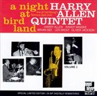 HARRY ALLEN A Night at Birdland, Vol. 1 album cover