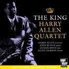 HARRY ALLEN Harry Allen Quartet : The King album cover