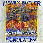 HENRY BUTLER Pianola Live album cover