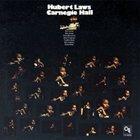 HUBERT LAWS Carnegie Hall album cover