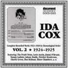 IDA COX Complete Recorded Works in Chronological Order, Vol. 2 (1924-1925) album cover