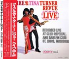 IKE AND TINA TURNER Ike & Tina Turner Revue Live 1964 & 1967 album cover