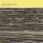 INGAR ZACH Ingar Zach & Speak Percussion : Before Nightfall One album cover