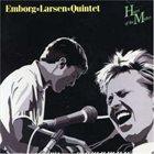 JØRGEN EMBORG Emborg/Larsen Quintet : Heart Of The Matter album cover