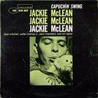 JACKIE MCLEAN Capuchin Swing album cover