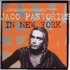JACO PASTORIUS In New York album cover