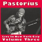 JACO PASTORIUS Live in New York City, Volume Three: Promised Land album cover