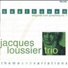 JACQUES LOUSSIER Beethoven: Allegretto from Symphony No.7