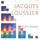 JACQUES LOUSSIER Impressions on Chopin's Nocturnes album cover