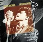 JAMES BROWN Greatest Hits Live album cover