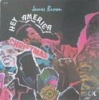 JAMES BROWN Hey America (aka Hey America It's Christmas) album cover