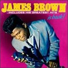 JAMES BROWN James Brown Is Back album cover