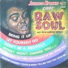 JAMES BROWN James Brown Sings Raw Soul album cover