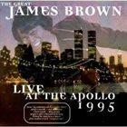 JAMES BROWN Live at the Apollo 1995 album cover