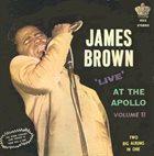 JAMES BROWN Live at the Apollo, Volume II (aka Live At The Apollo) album cover
