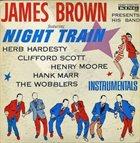 JAMES BROWN Night Train (aka  Twist Around aka Jump Around) album cover