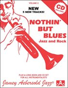 JAMEY AEBERSOLD Nothin' But Blues, Vol. 2 (Book & CD) album cover