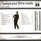 JANKO NILOVIĆ Musique Pour Films Muets album cover