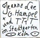 JEANNE LEE Im Stadtgarten Köln album cover