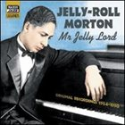 JELLY ROLL MORTON — Mr. Jelly Lord album cover