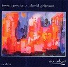 JERRY GARCIA Jerry Garcia & David Grisman : So What album cover