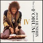 JIMI HENDRIX Live at Los Angeles Forum 1969 album cover