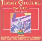 JIMMY GIUFFRE Jimmy Giuffre with Jim Hall - Trio & Quartet album cover