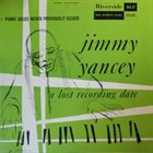 JIMMY YANCEY A Lost Recording Date album cover