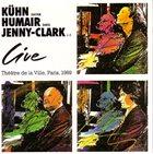 JOACHIM KÜHN Live Theatre de la Ville, Paris, 1989 album cover