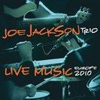 JOE JACKSON Live Music - Europe 2010 album cover
