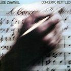 JOE ZAWINUL Concerto Retitled album cover