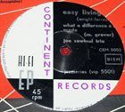 JOE ZAWINUL Joe Zawinul Trio : The Beat album cover