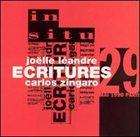 JOËLLE LÉANDRE Ecritures (with Carlos Zingaro) album cover