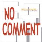 JOËLLE LÉANDRE No Comment album cover
