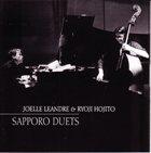 JOËLLE LÉANDRE Sapporo Duets (with Ryoji Hojito) album cover