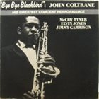 JOHN COLTRANE Bye Bye Blackbird album cover