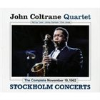 JOHN COLTRANE Complete November 19 1962 (Stockholm Concerts) album cover